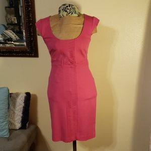 Fushia pencil dress
